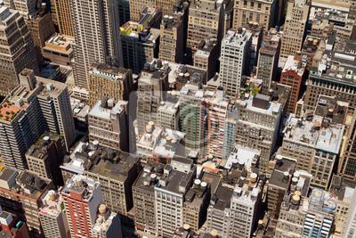 Budynki Tła New York