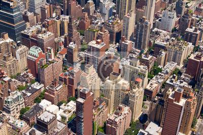 Budynki w centrum Nowego Jorku