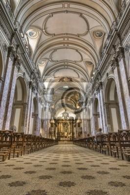 Buenos Aires Cathedral Wnętrze budynku głównego