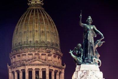 Obraz Building of Congress - Buenos Aires, Argentina
