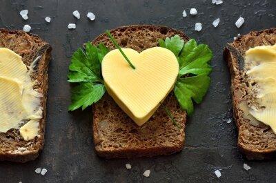 Obraz Bułka z masłem