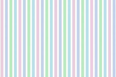 Obraz Bunte Streifen w Pastellfarben