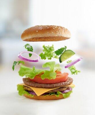 Obraz burger