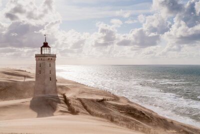 Obraz Burza piaskowa w The Lighthouse