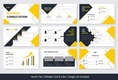 Obraz Business Consultation PowerPoint Presentation Template