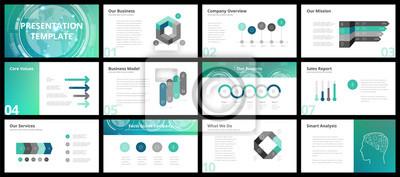 Obraz Business presentation templates