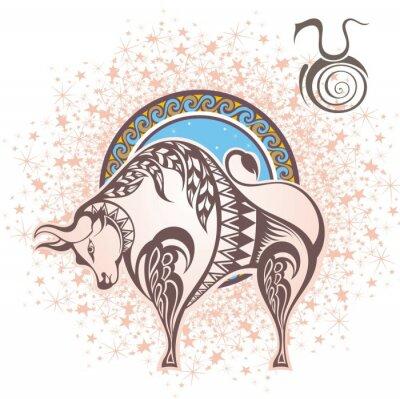 Obraz Byk. znak zodiaku