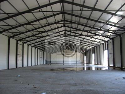 Modish Obraz c-section - konstrukcja dachu stalowa - magazyn na wymiar DE67