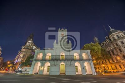 Cabildo budynku w Buenos Aires, Argentyna