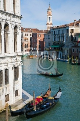 Camerlenghi Pałac znajduje się w Wenecji, Włochy