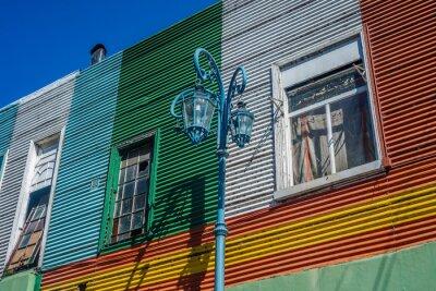 Caminito ulica w Buenos Aires, Argentyna.