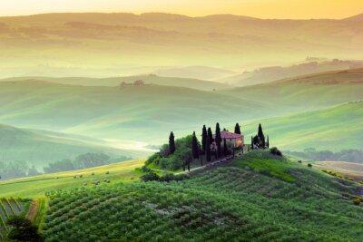 Obraz Campagna Toscana, Italia