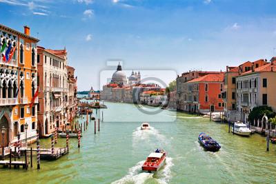 Canal Grande w Wenecji, Włochy