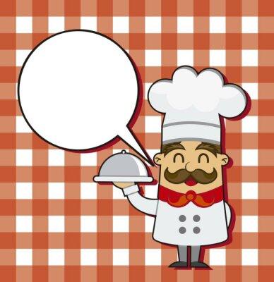 Obraz Cartoon kuchni