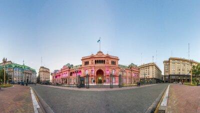Casa Rosada building in Buenos Aires, Argentina.