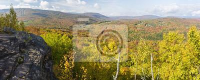 Catskills Ledge Szczyt Kolor Panorama