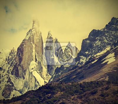 Cerro Torre w Los Glaciares Mountain National Park, Patagonia,