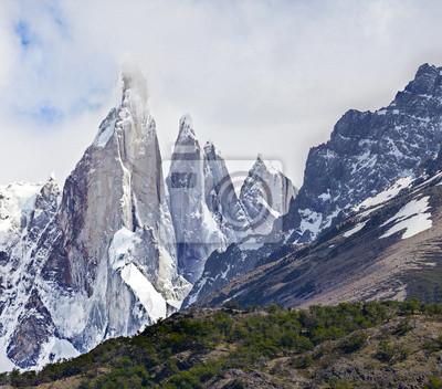 Cerro Torre w Los Glaciares National Park, Patagonia, Argentyna