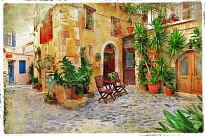 Chania, Kreta-stare urokliwe uliczki