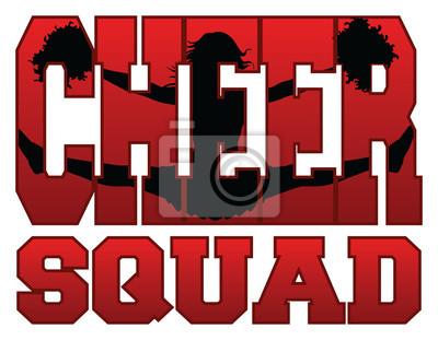 Obraz Cheer Squad Z Cheerleader