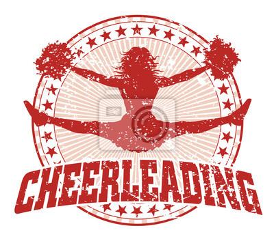 Obraz Cheerleaderek Design - Vintage
