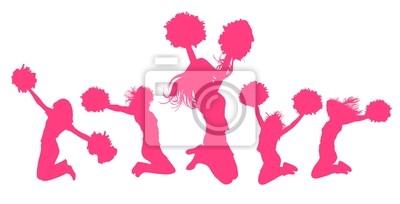 Obraz cheerleaders