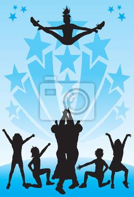 Obraz Cheerleading
