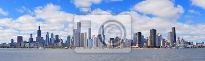 Chicago skyline panorama miasta urban