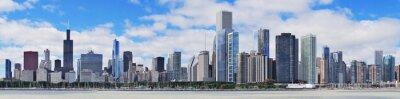 Obraz Chicago skyline panorama miasta urban