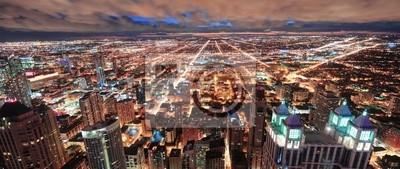 Chicago skyline panorama miejska