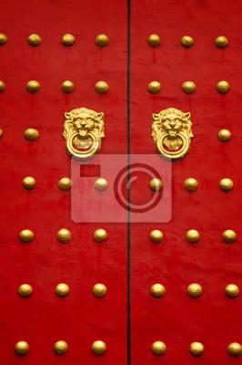 Chiński drzwi.