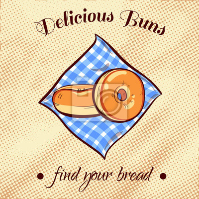Obraz Chleb na serwetce 13