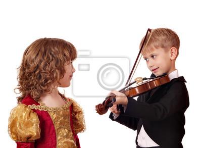 Chłopiec i dziewczynka romance