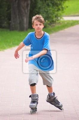 Chłopiec roller