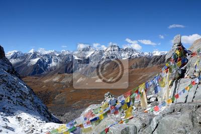 Chola przechodzą 5400m. Zima z plecakiem w Himalajach. Nepal Trekking i podróże zapewnić odpowiednie miejsce dla nie zapominając trekkingowe wyprawy w Himalaje.