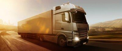 Obraz Ciężarówka Panorama