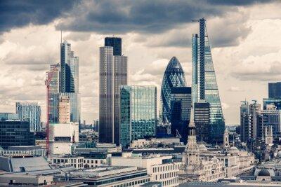 Obraz City of London, Krzyż Proces