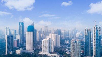 Obraz CITYSCAPE AGAINST SKY