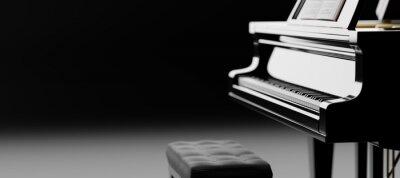 Obraz Classic grand piano keyboard