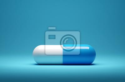 Obraz Close Up Of A Medicine Capsule Pill
