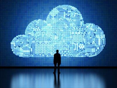 Obraz Cloud computing technology