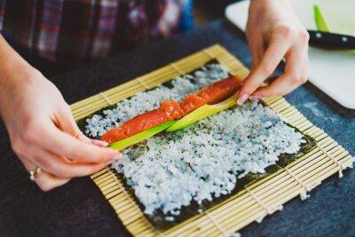 Obraz co sushi