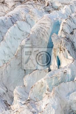 Coleman lodowiec Niebieski Crevasse