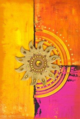 Obraz collage Sonne