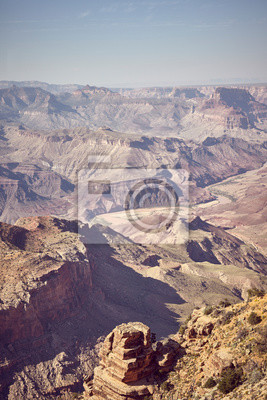 Color toned picture of Grand Canyon, USA.