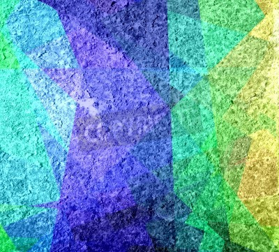 Obraz colored cubism grunge texture background
