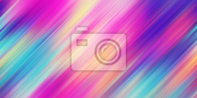 Obraz Colorful abstract background illustration. Rainbow Style Gradient lines. Template for your design, screen, wallpaper, banner, poster
