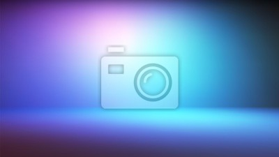 Obraz Colorful neon gradient studio backdrop with empty space for your content