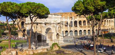 Colosseo i Arco di Constantino, Rzym