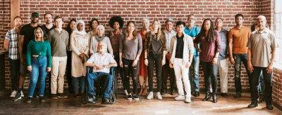 Obraz Community of diverse people
